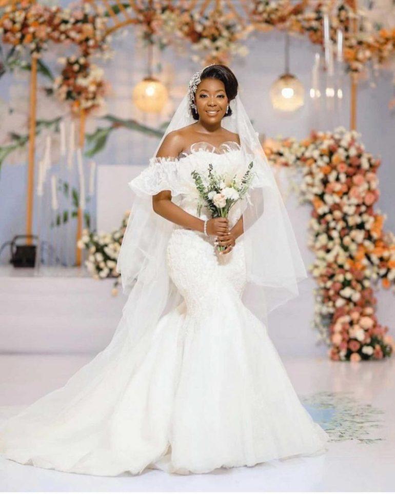 off the shoulder wedding dress elizabeth and lace bridal