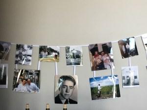 Van Ruiten Family Pictures hang in their tasting room.