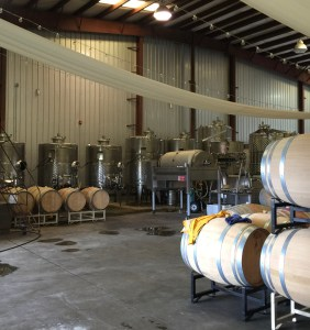Sanctuary Vineyards Tank Room