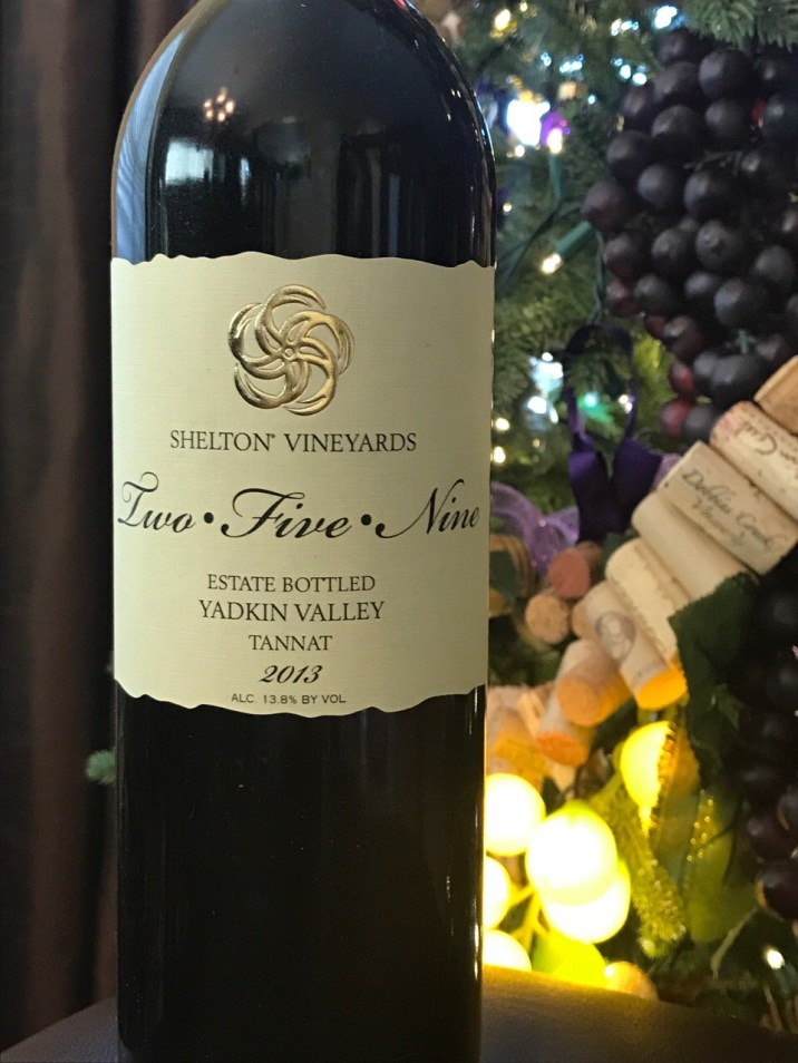 Tannat from Shelton Vineyards in Dobson