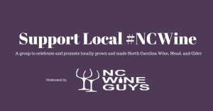 Support Local #NCWine