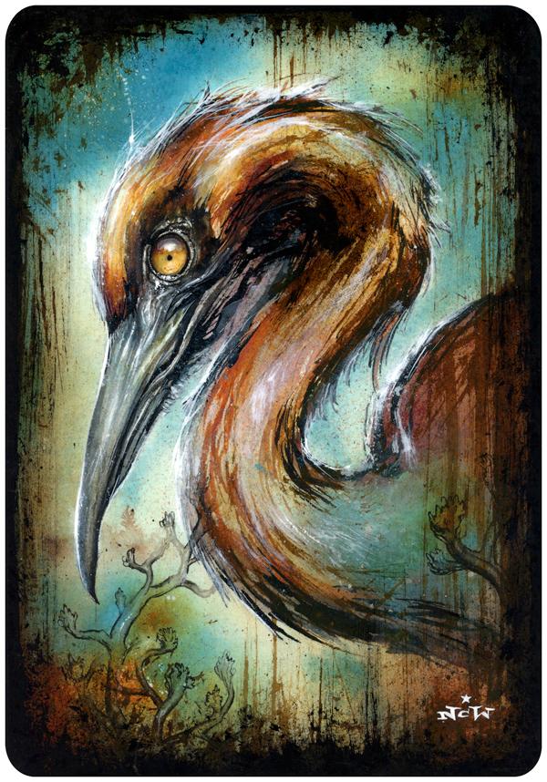 HeronThrough