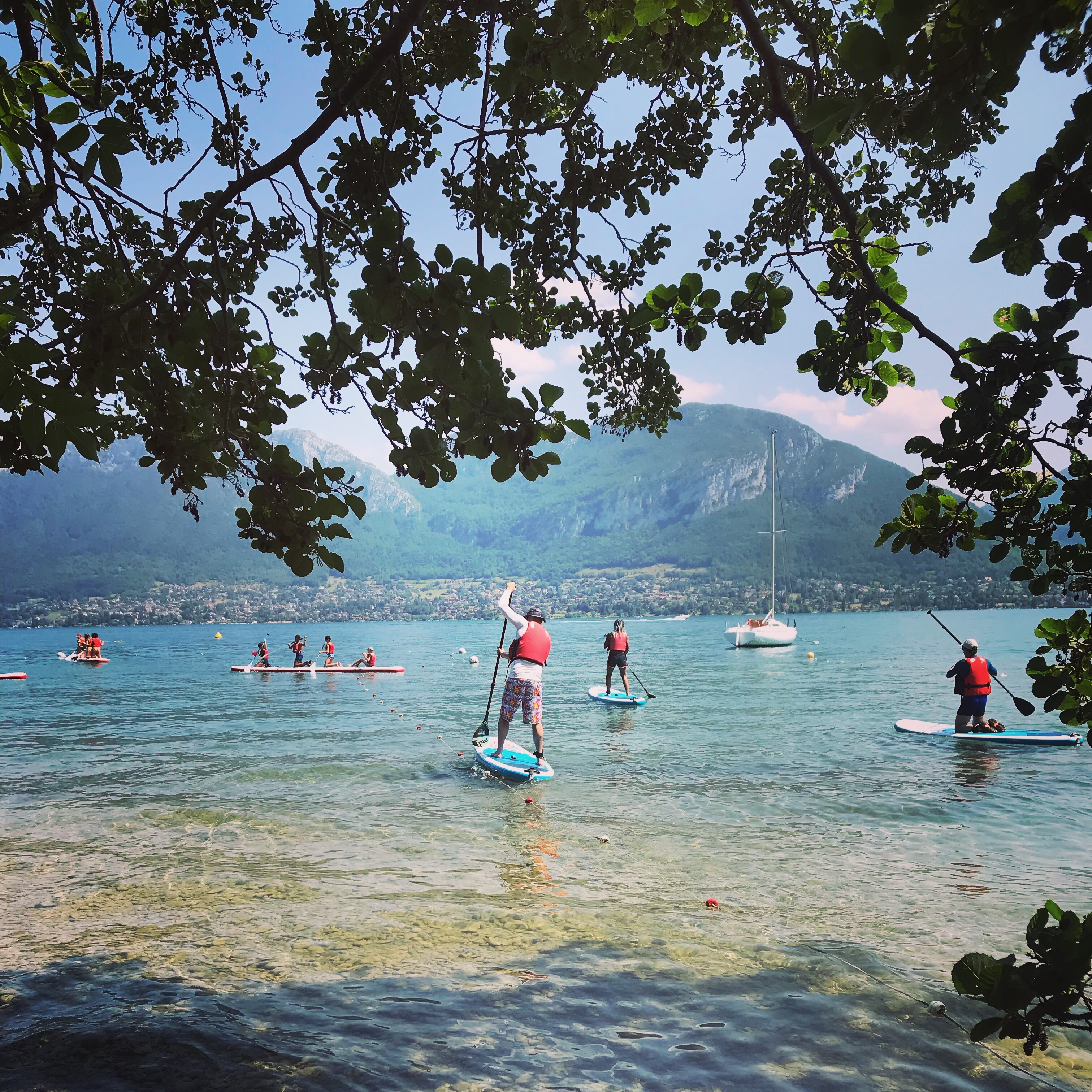 NCY SUP Lac d'Annecy