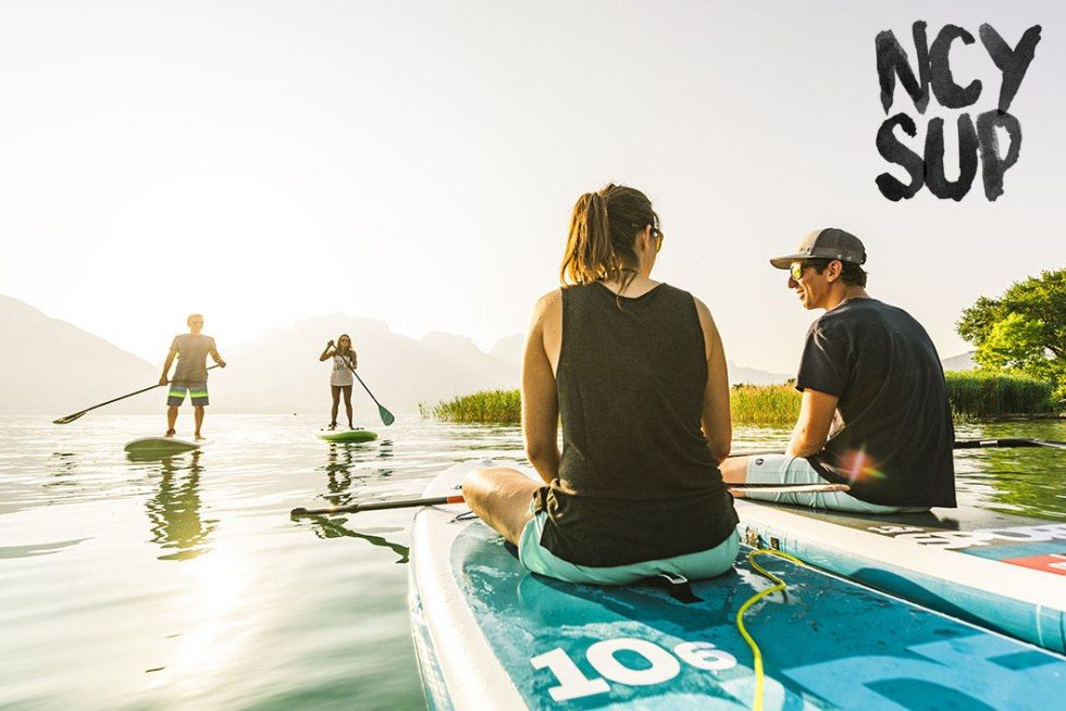 NCY SUP Center location paddle lac d'Annecy