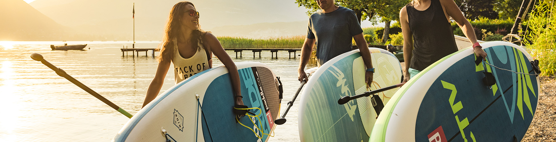 NCY SUP location paddle lac annecy