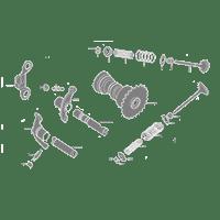 Taida Cylinder 61mm 171cc Big Bore Kit w/Cast Piston Fit