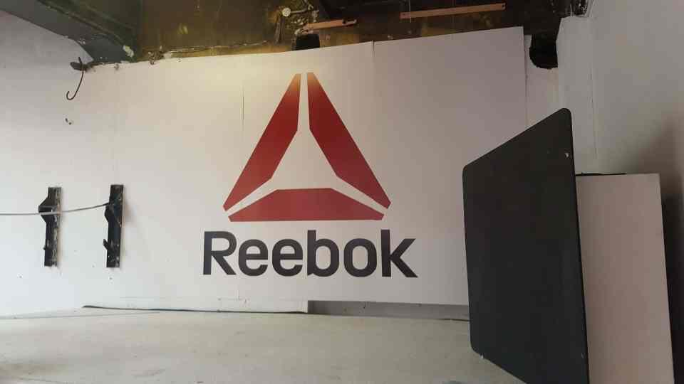 Interior Sign For Reebok