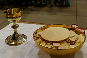 Communion à Notre-Dame des Anges