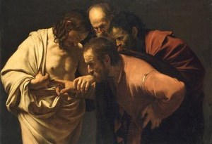 L'incredulite de saint thomas