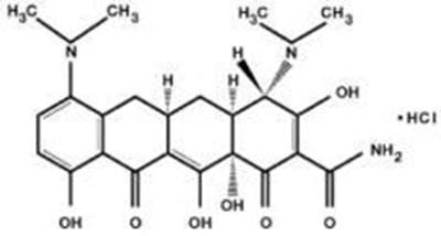 NDC 65976-100 Arestin Minocycline Hydrochloride