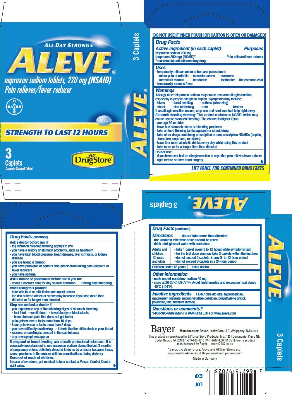 Aleve Pm Ingredients - Root Canal Toothache