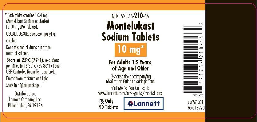 NDC 62175-205 Montelukast Sodium Montelukast Sodium