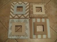 DIY Wooden Frames | Pretty in Petite