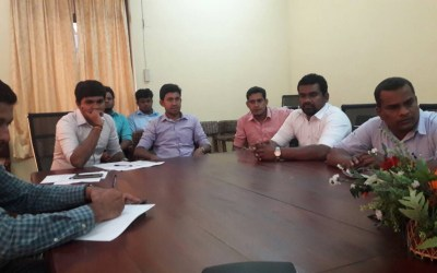 Alumni Members Meeting with Director Principal of IET