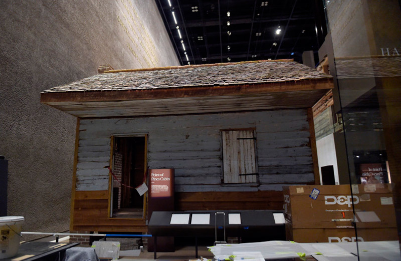 Point of Pines Cabin at the National African American History Museum