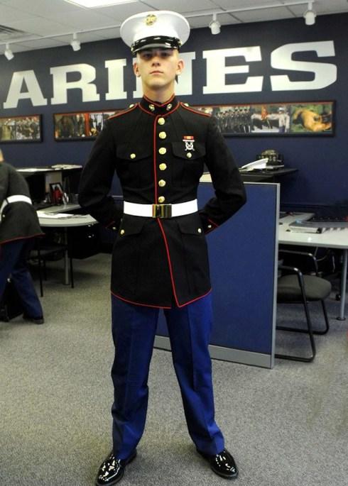 Marine Corps dress blues