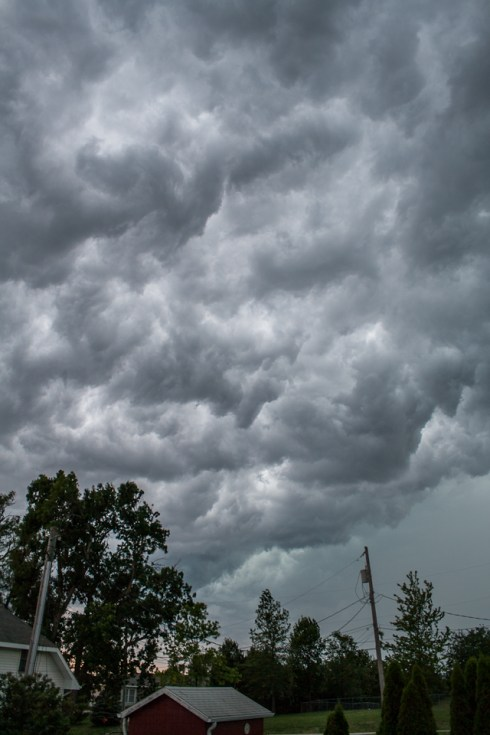Thunderstorm in the Midwest