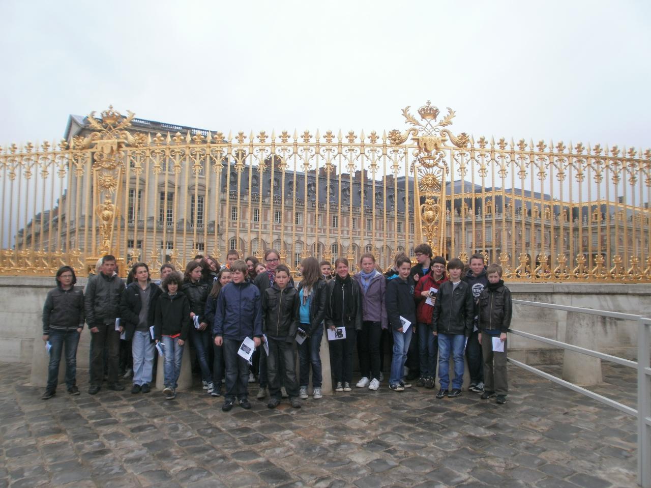 Une journe au chteau de Versailles