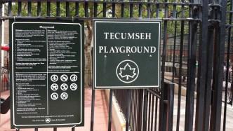 Tecumseh playground, New York