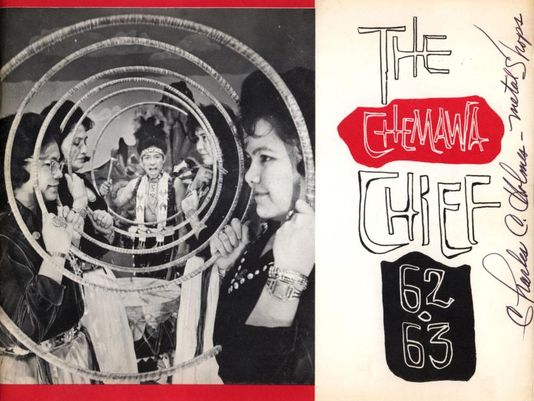 Chemawa Chief Yearbook 1962-63, Charles Holmes Collection, CTGR