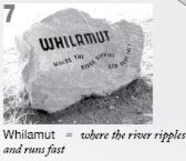 Whilamut park stones