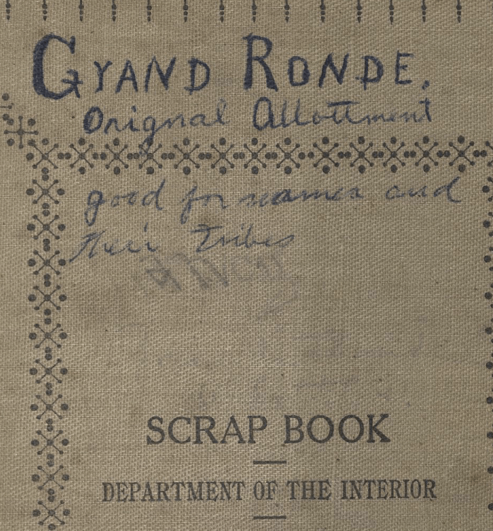 Re-analyzing the Allotments at Grand Ronde