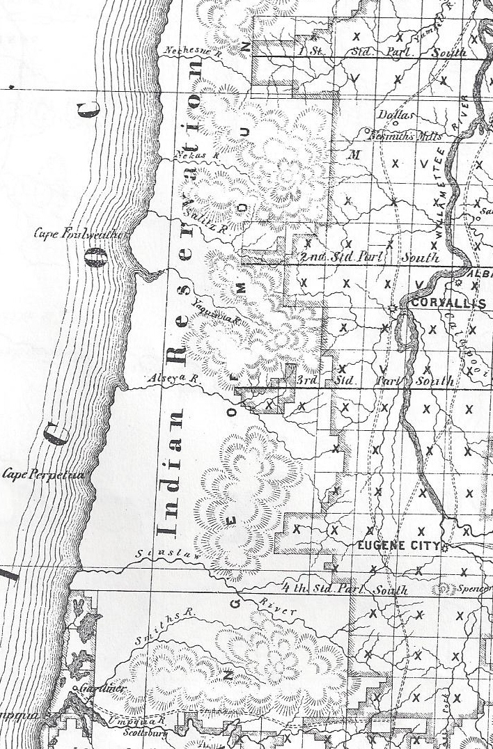 Economic Disease, Death, and Starvation at the Western Oregon Indian Reservations in 1857