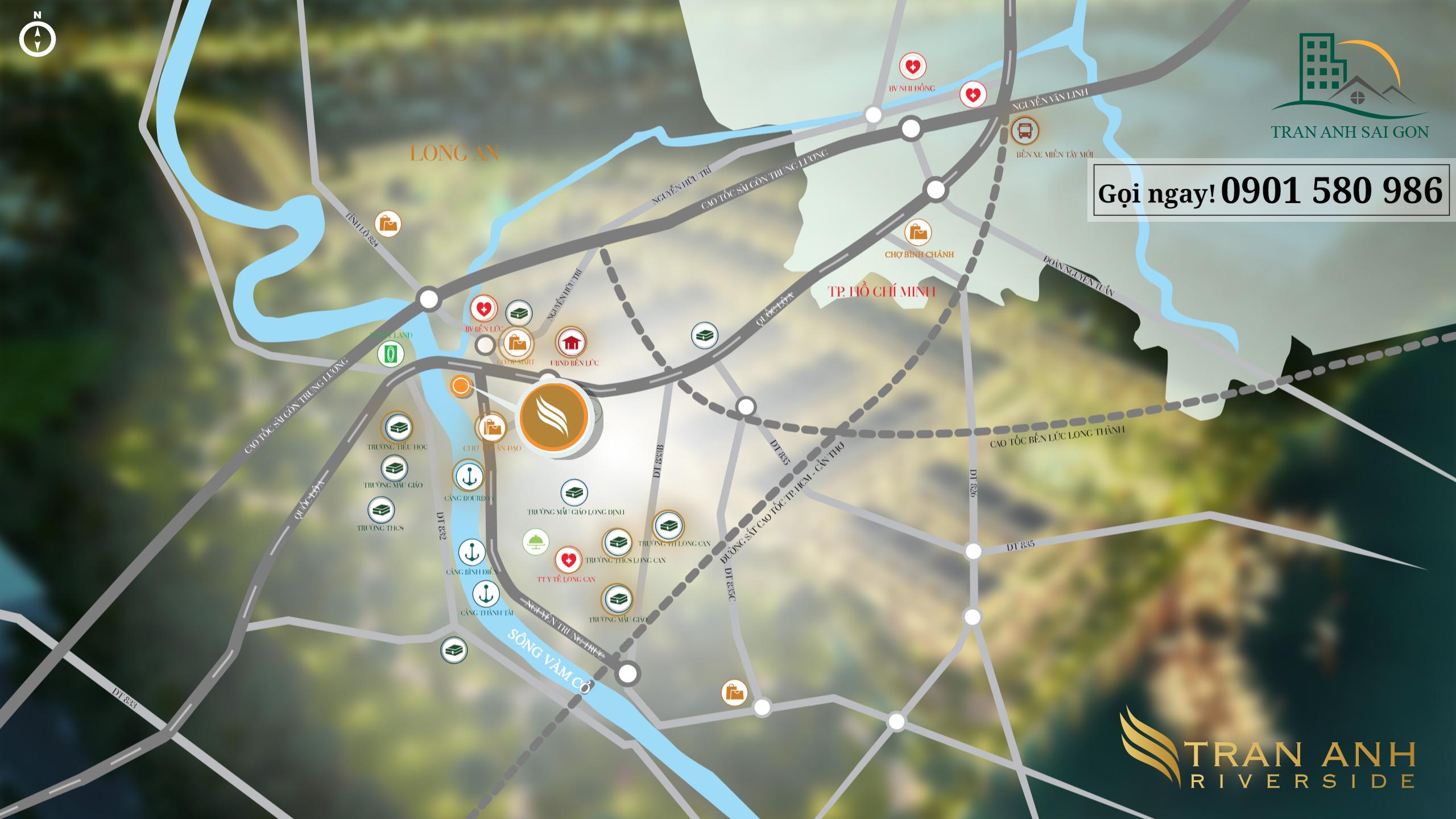 Trần Anh Riverside – khu biệt thự ven sông với 60% diện tích xanh