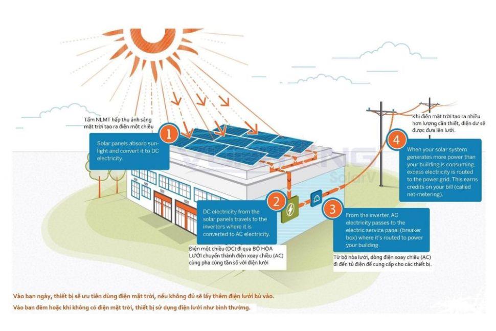 Solar City dự án đầu tiên sử dụng năng lượng 100% năng lượng sạch