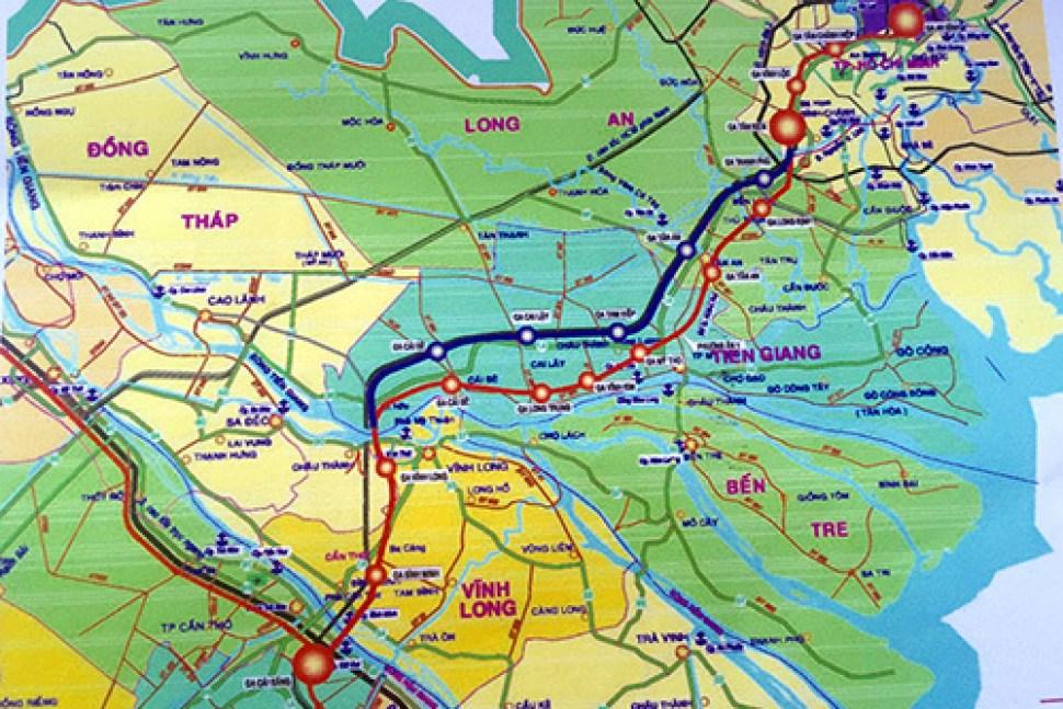 Khởi công Tuyến đường sắt cao tốc TP HCM – Cần Thơ kết nối lưu thông phát triển Kinh tế Khu Vực Phía Tây