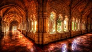 clean monastery