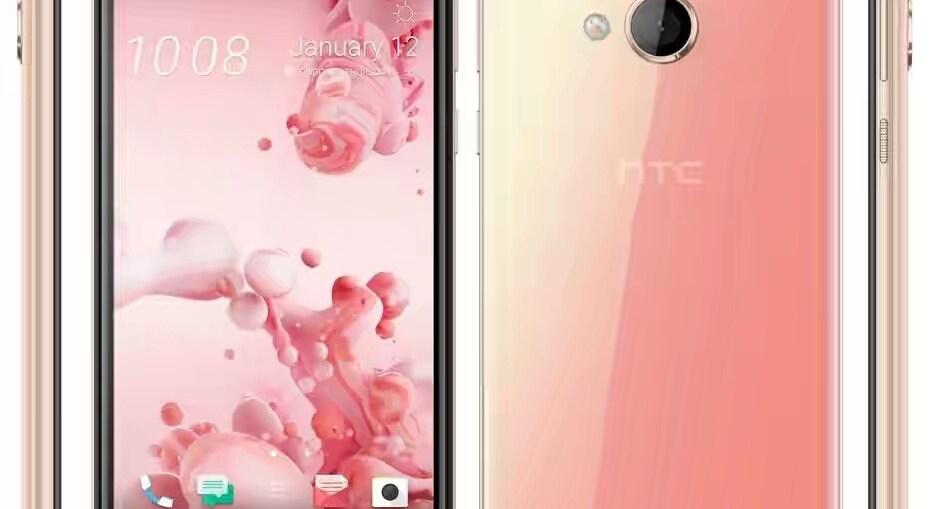 HTC U Play Pink Color