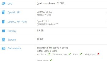 Lenovo TB-X704F/N , GFXBENCH listing, Leaked specifications