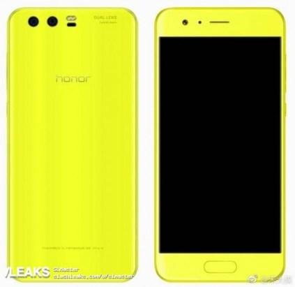 Honor 9 lemon Green