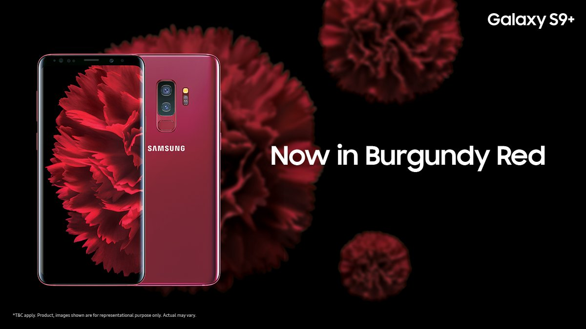 Samsung Brings A New Burgundy Red Edition To The Galaxy S9 In India
