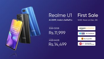 Realme U1 selfie centric phone with 6 3-inch full HD+ 19 5:9