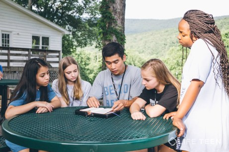 Viet Pham- teaching teens how to pray the Liturgy of the Hours