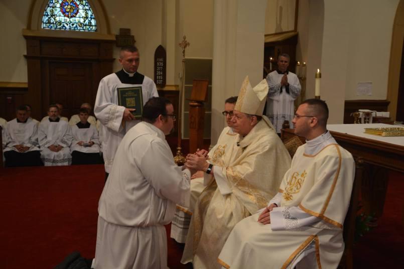 Dcn. Braxton Diaconate Ordination