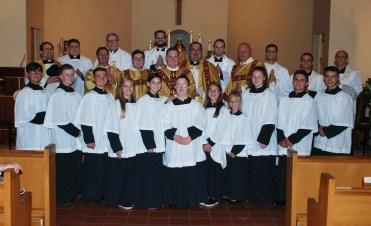 Fr. Korey First Mass