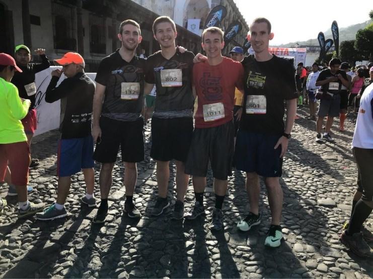 Marathon in Guatemala
