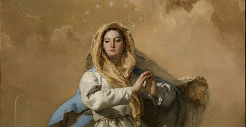 The Immaculate Conception by Tiepolo, 1768 [Prado, Madrid].