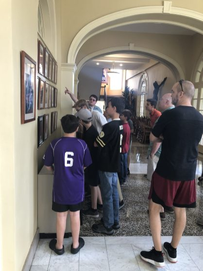 Deacon Andrew Killeen from the Diocese of Lafayette is serving his Diaconate Internship at St. Peter's Catholic Church in New Iberia! Deacon Killeen and his pastor, Fr. William Blanda, visited Notre Dame Seminary with altar servers from their parish.