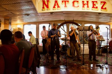 Band on the Steamboat Natchez