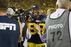 Michigan QB Gardner post-game interview