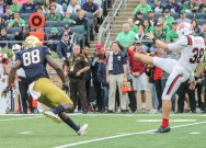 Irish wide receiver Javon McKinley charged with battery
