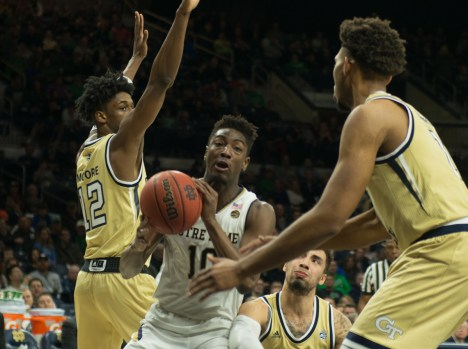 Irish fall short of redemption win over No. 4 Virginia