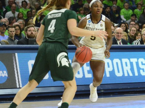 Irish advance to Sweet Sixteen as Turner breaks Notre Dame rebound record