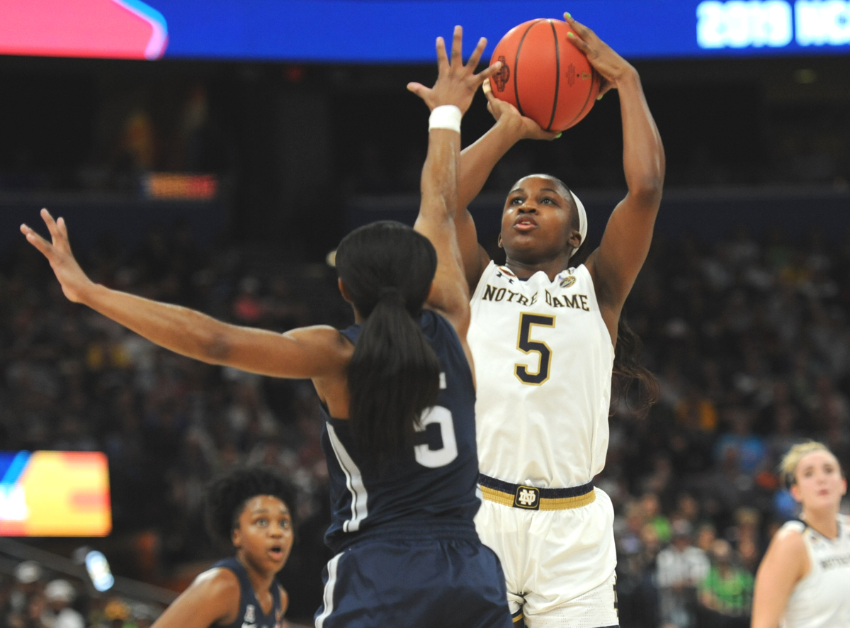 Notre Dame's Young undecided on WNBA