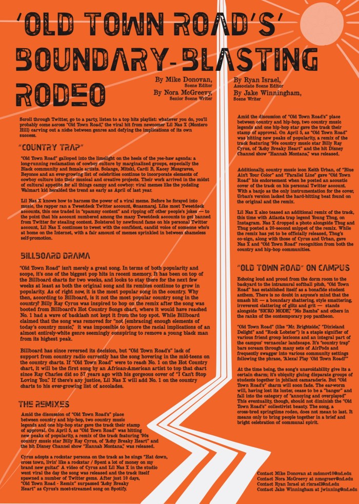 Old Town Road's' boundary-blasting rodeo // The Observer
