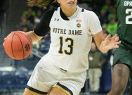 Notre Dame drops second straight home matchup